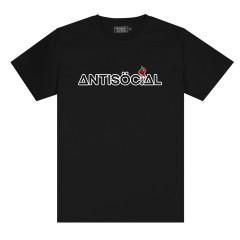 Футболка Antisocial Molotov Black