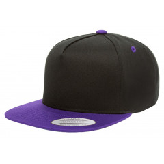 Кепка FlexFit Classic Snapback Black/Purple